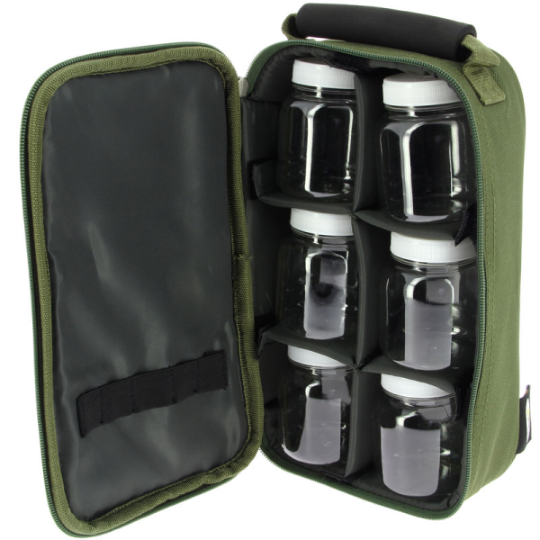 NGT 6 Pot Green Glug Bag (825)