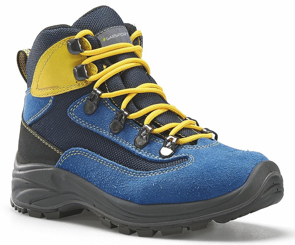 GARSPORT DUBLIN TEX – JUNIOR Water-Resistent BLUE/YELLOW