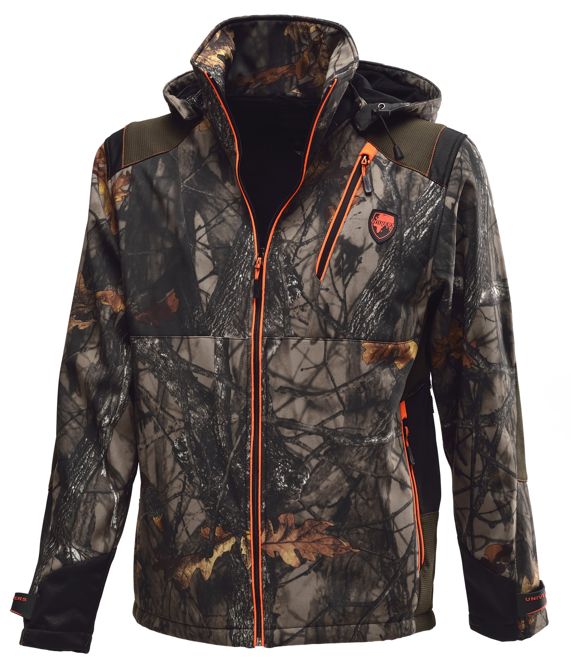 Univers Waterproof SOFTSHELL CAMO JACKET 91021 / 159