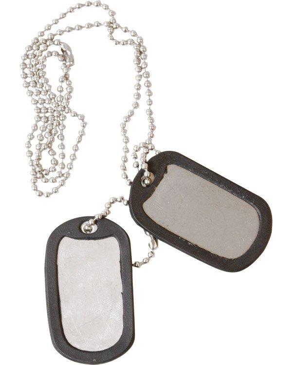 Kombat Dog Tags - Silver