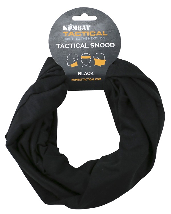 Kombat Tactical Snood - Black