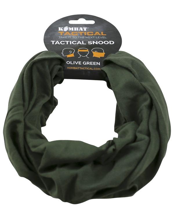Kombat Tactical Snood - Olive Green