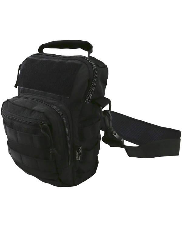 Kombat Hex Stop Explorer Shoulder Bag Black