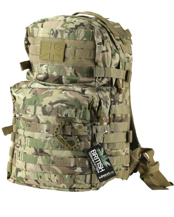 Kombat Medium Molle Assault Pack 40 Litre BTP
