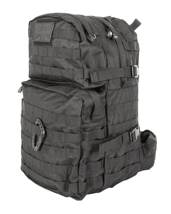 Kombat Medium Molle Assault Pack 40 Litre Black