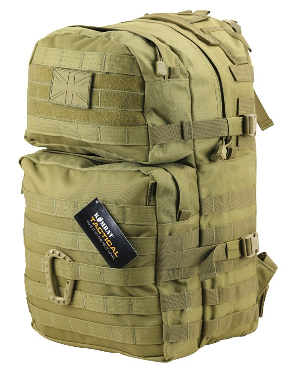 Kombat Medium Molle Assault Pack 40 Litre Raptor Desert