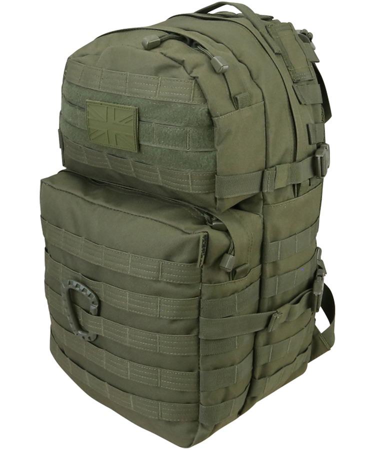 Kombat Medium Molle Assault Pack 40 Litre GREEN