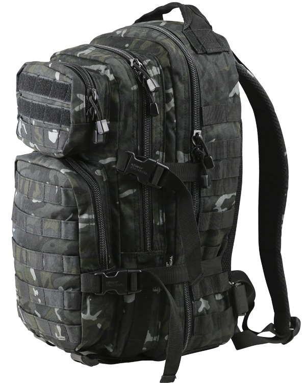 Kombat Small Molle Assault Pack 28 Litre BTP Black