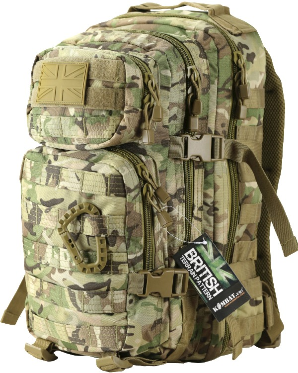 Kombat Small Molle Assault Pack 28 Litre BTP