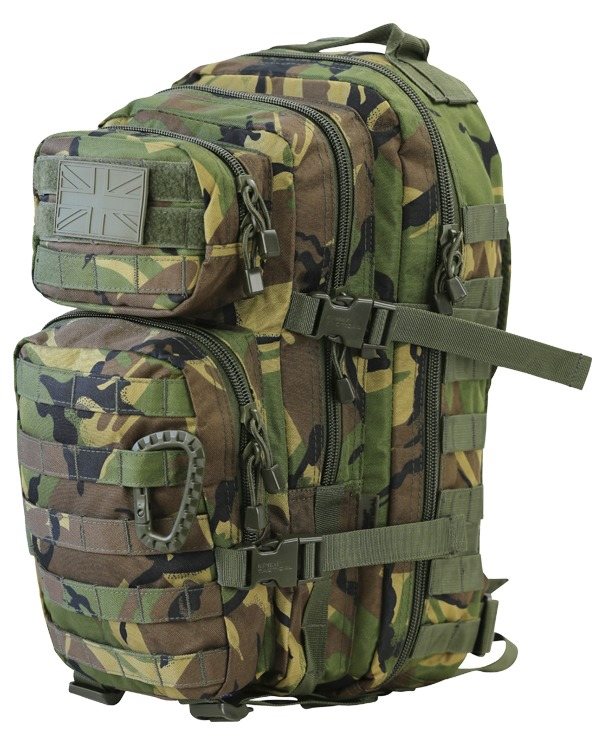 Kombat Small Molle Assault Pack 28 Litre DPM