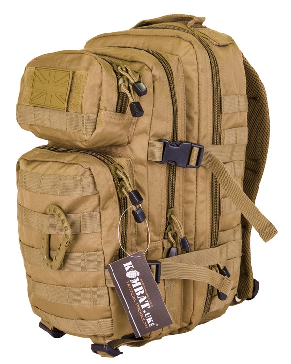 Kombat Small Molle Assault Pack 28 Litre Rapter Desert