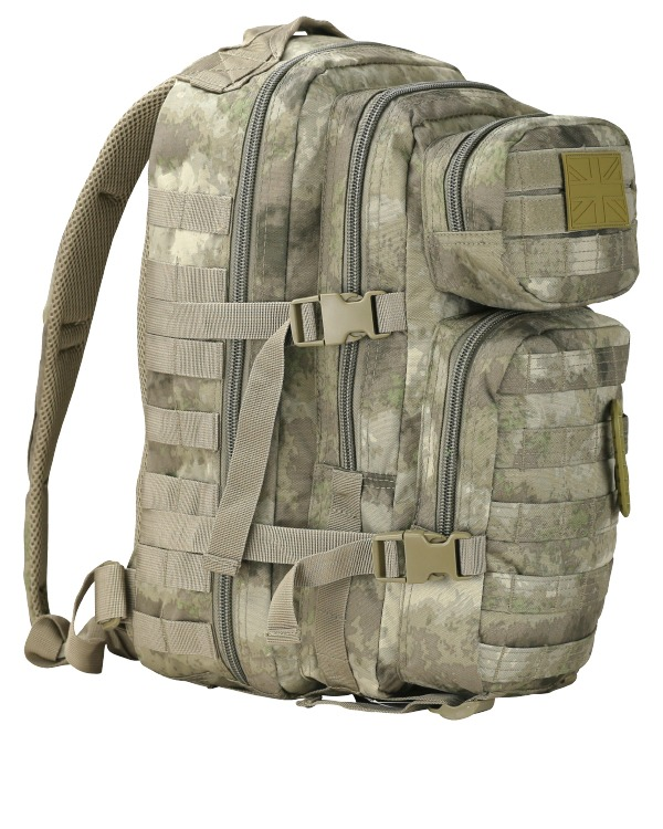 Kombat Small Molle Assault Pack 28 Litre Raptor Jungle