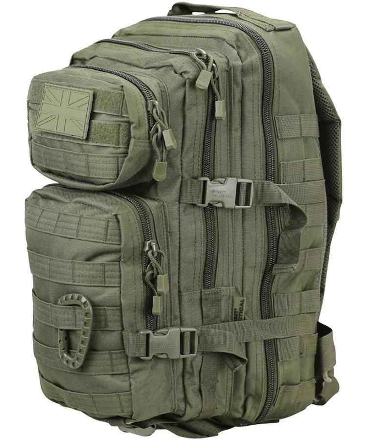 Kombat Small Molle Assault Pack 28 Litre GREEN