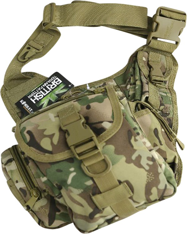 Kombat Tactical Shoulder Bag 7 Litre - BTP