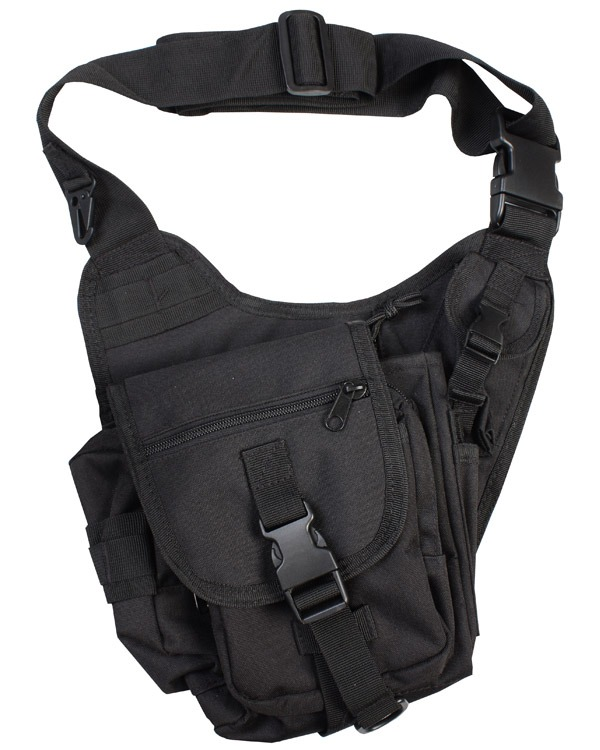 Kombat Tactical Shoulder Bag 7 Litre Black