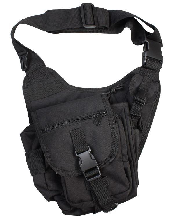 Kombat Tactical Shoulder Bag 7 Litre Black