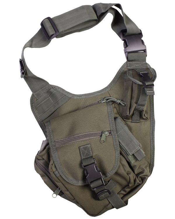 Kombat Tactical Shoulder Bag 7 Litre Olive Green