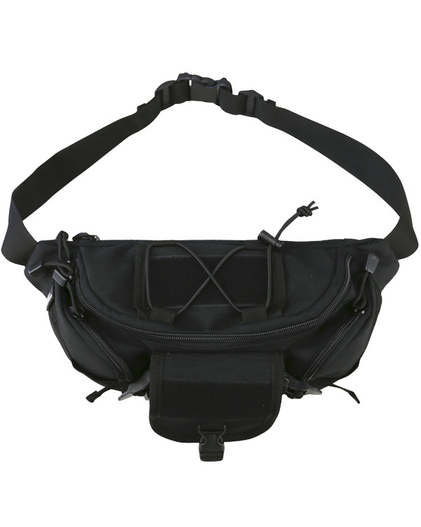 Kombat Tactical Waist Bag 3 litre Black