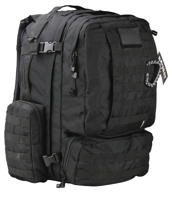 Kombat Viking Patrol Pack 60 Litre Black