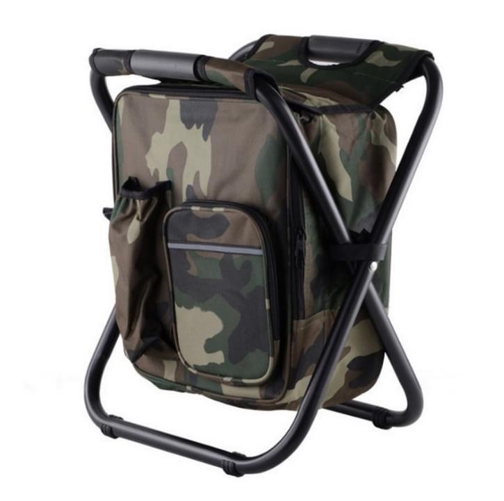 CHAIR CAMO WITH COOLER BAG