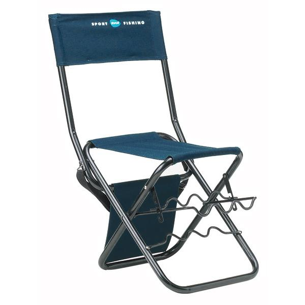 EVIA FISHING CHAIR WITH ROD HOLDER