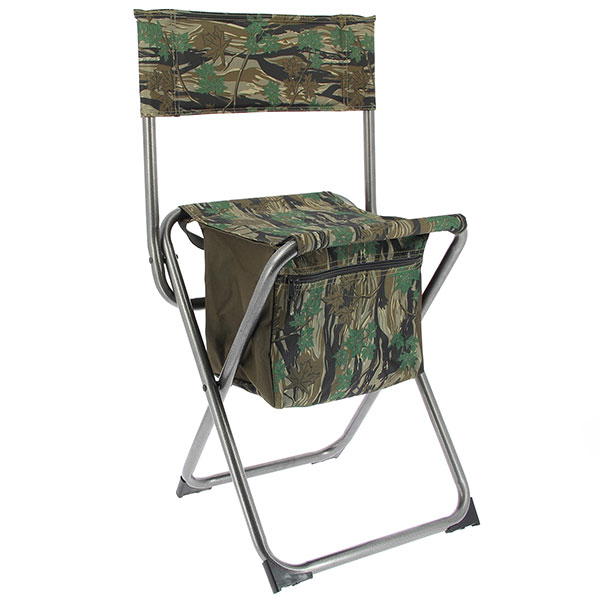 NGT Nomad Quick Folding Stool with Storage Compartment