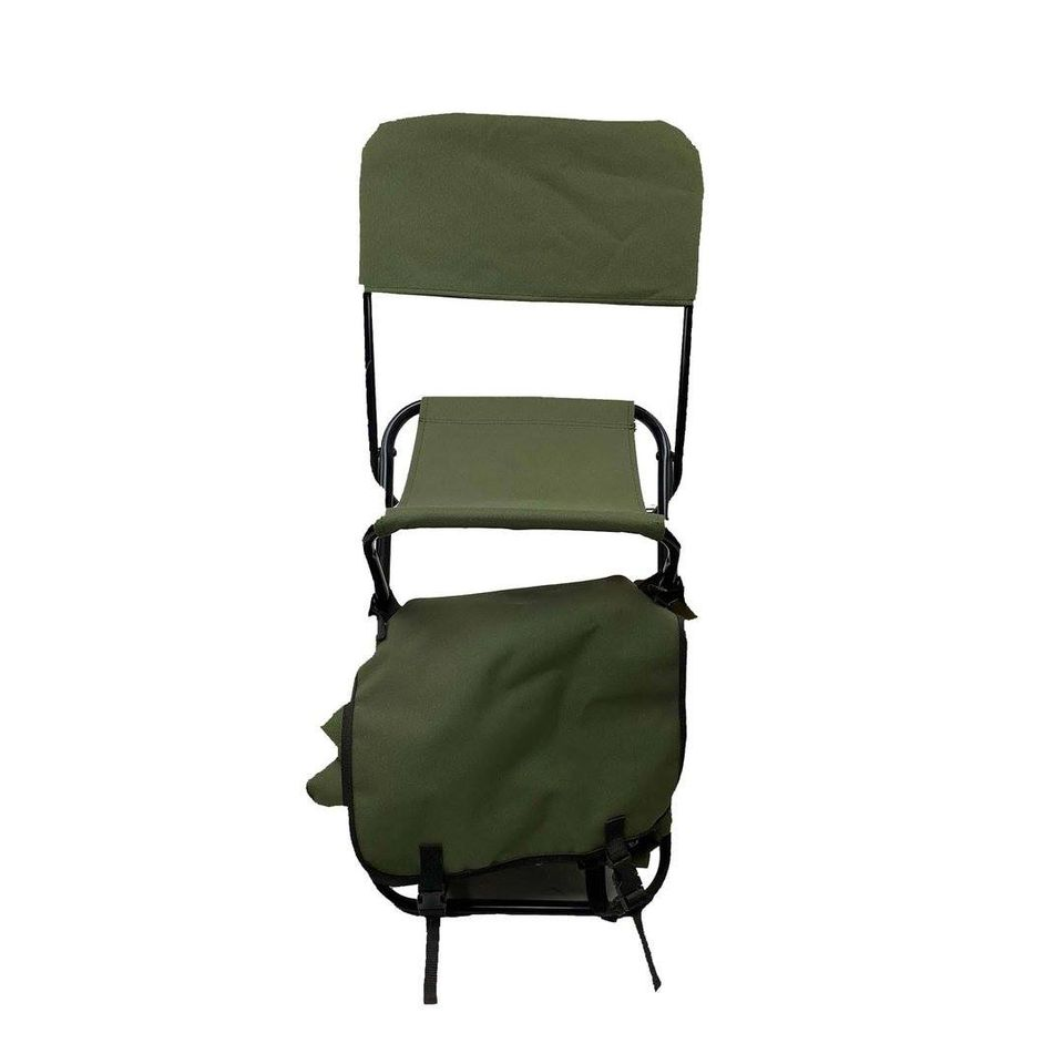 CHAIR FOLLOW ME WITH STORAGE BACKPACK (GREEN)