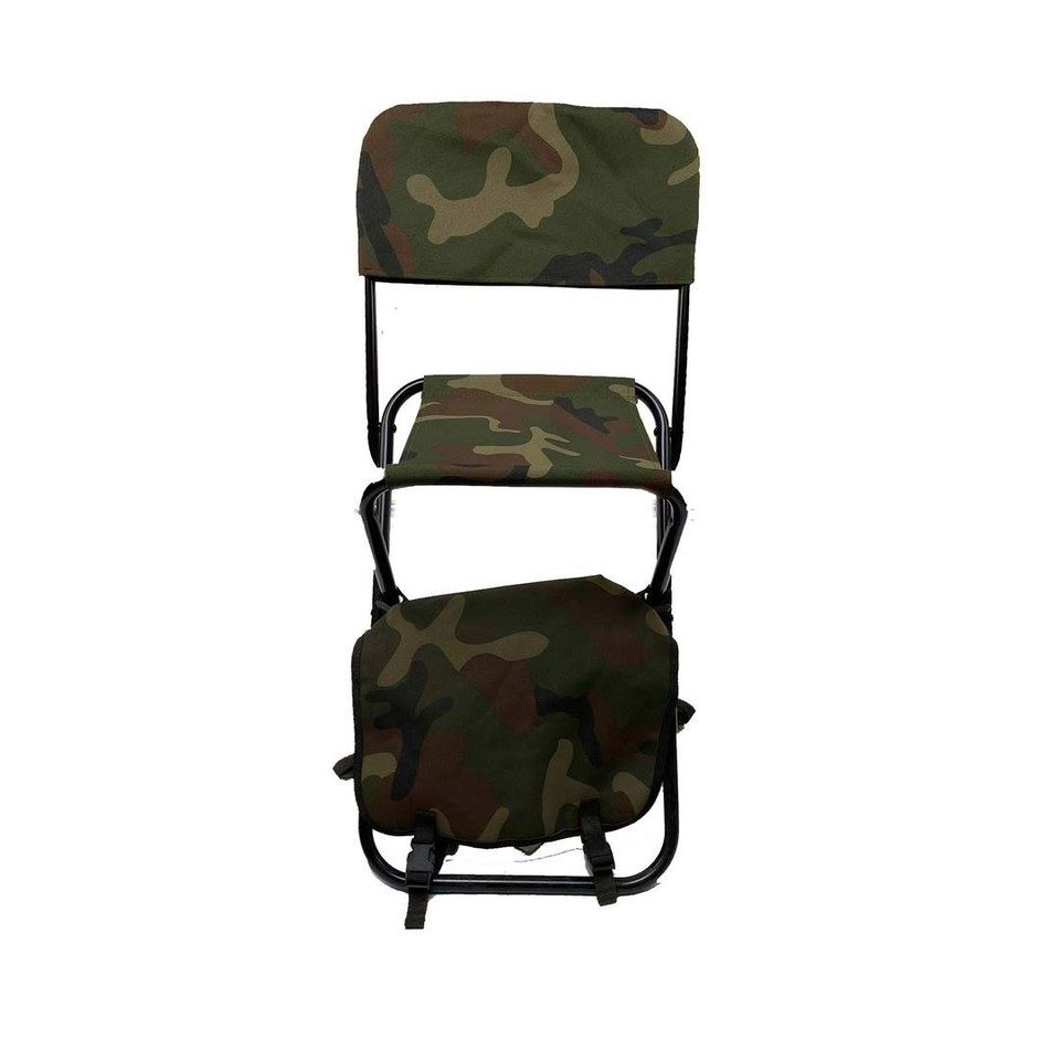 CHAIR FOLLOW ME WITH STORAGE BACKPACK (WOODLAND)