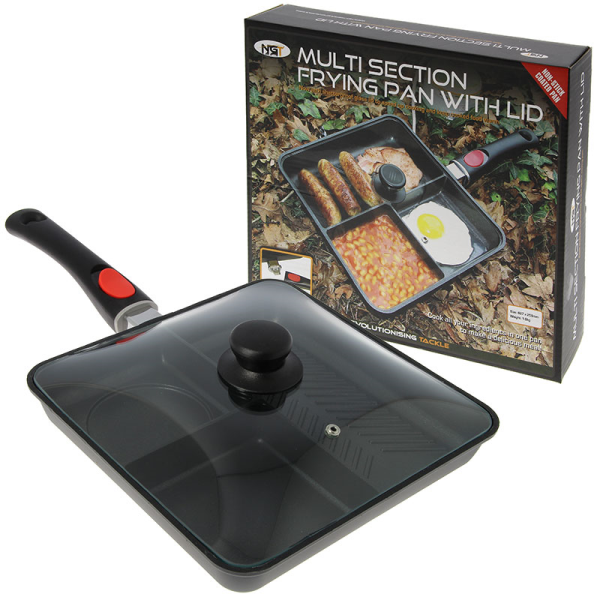 NGT 3 Way Frying Pan with Removable Handle and Lid