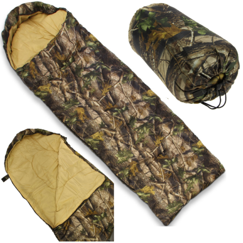NGT Camo Sleeping Bag With Case