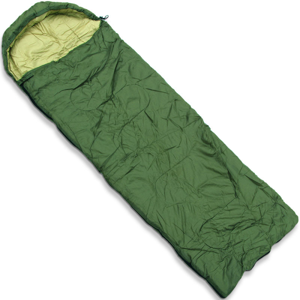 NGT Green Sleeping Bag With Case