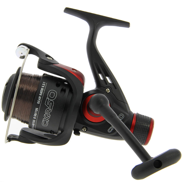 NGT CKR50 Coarse Fishing Reel with 8lb Line