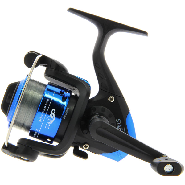 NGT STAR20 Coarse Fishing Reel with 8lb Line