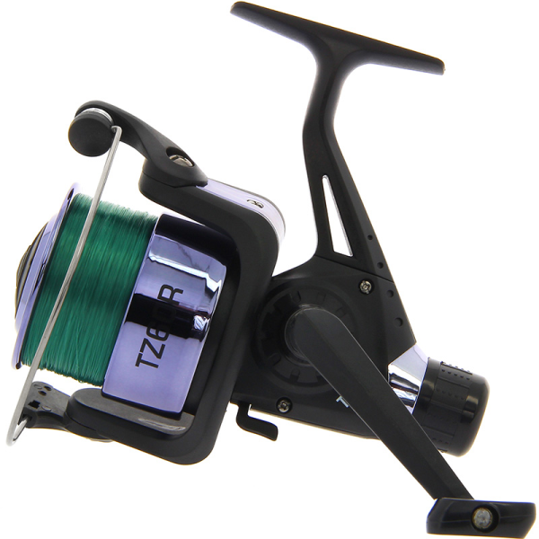 NGT TZ60R Black Coarse Fishing Reel with 12lb Line