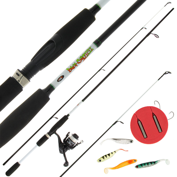 NGT Drop Shot Combo - 7ft Rod, Reel and Accessory Combo