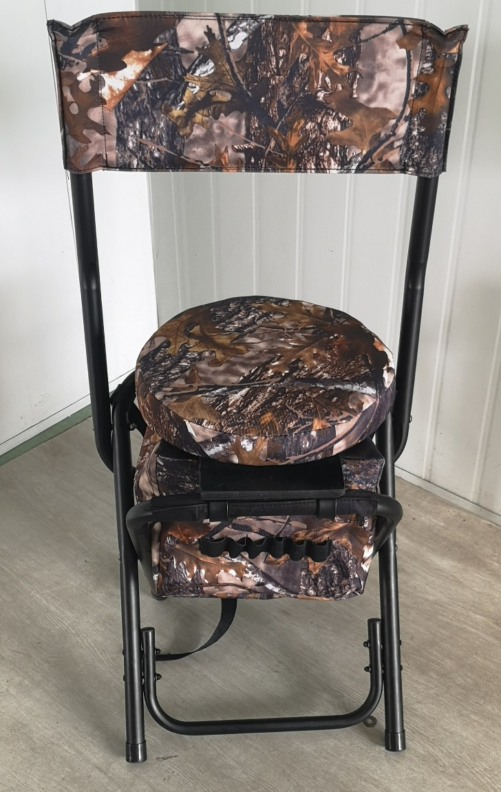 360° HUNTING SWIVEL CHAIR WITH BACKREST