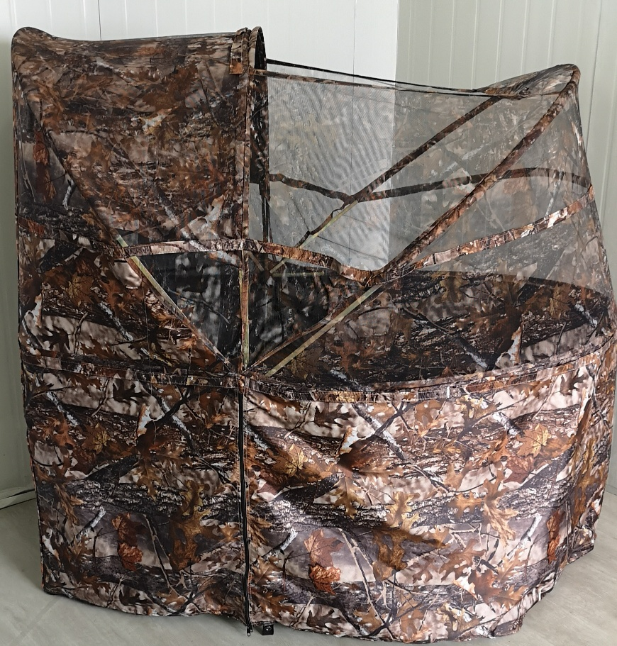 LUXURY PORTABLE POP UP HUNTING TENT BLIND WITH CHAIR