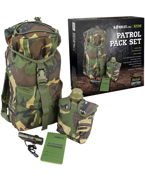 Kombat Kids Patrol Pack Set - DPM