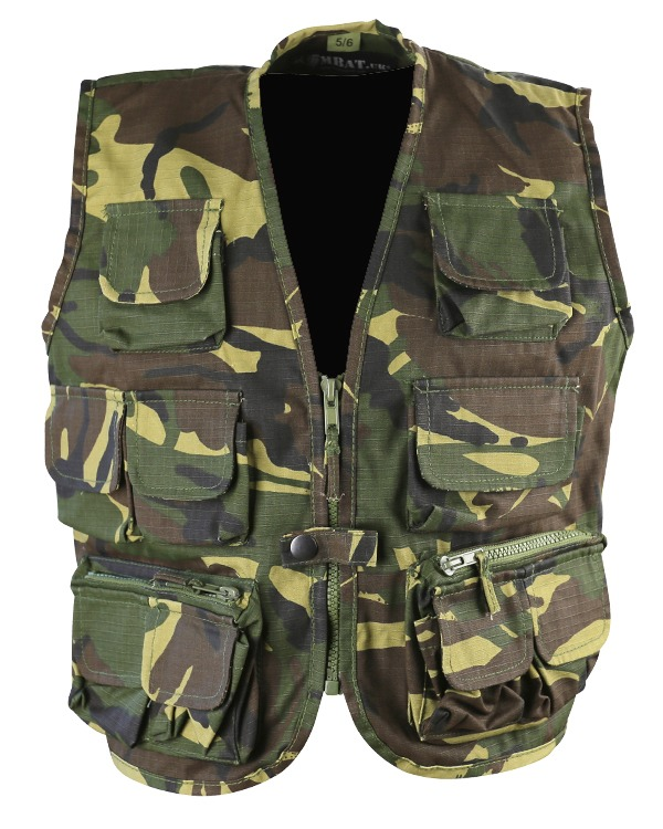 Kombat Kids Tactical Vest - DPM