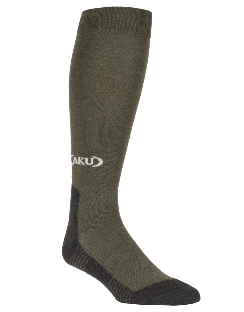 AKU Socks Trekking High Green/Dark Grey