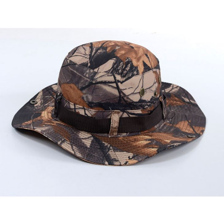 HAT CAMOUFLAGE BROWN