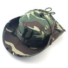 HAT CAMOUFLAGE COWBOY HAT