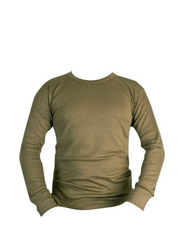 KOMBAT Thermal Long Sleeved Top - Olive Green