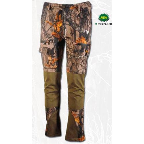 UNIVERS TEX SOFTSHELL CAMO TROUSERS 92309/160