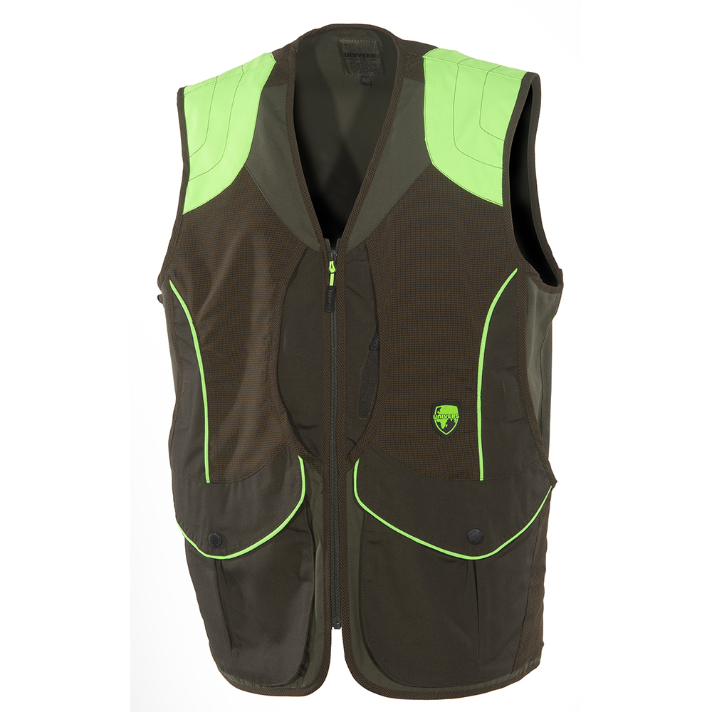 UNIVERS HUNTING VEST GREEN/FLUO 93002/400