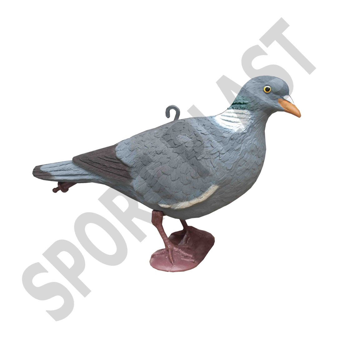 Sport Plast Italian Decoy Wood Pigeon Small Size With Legs 32-00