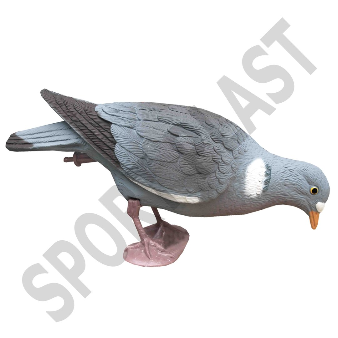 Sport Plast Italian Decoy Pigeon With Legs Feeder Head 26-00 F