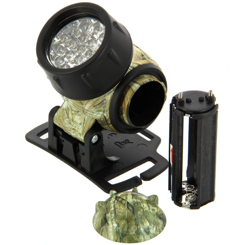 NGT 19 led multi-function headlight in camo