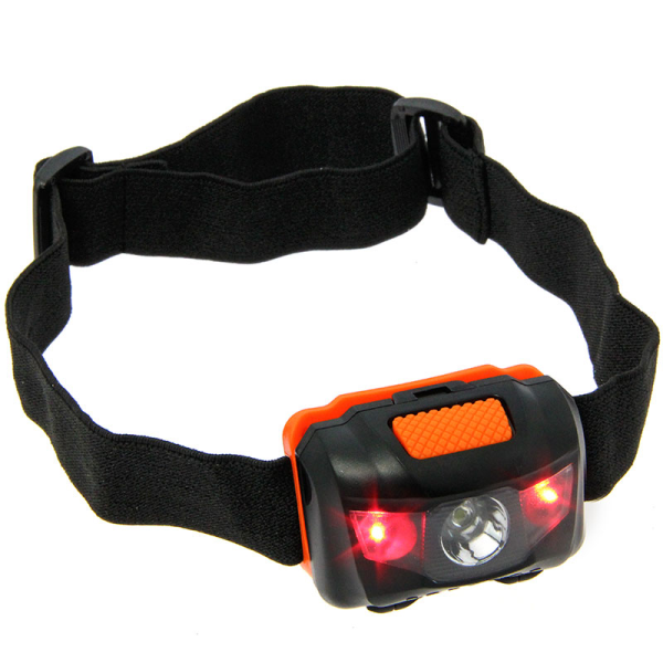 NGT LED Headlight with White and Red Light (100 lumens)