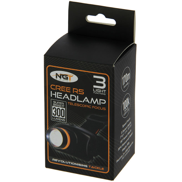NGT Q5 Cree Headlamp (300 Lumens)